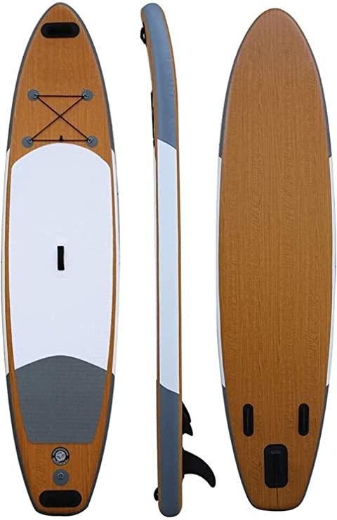 Bottom Fin for Paddling 6 Inches Thickness Standing Boat with Non-Slip Deck Wide Stance Jiubenju Inflatable Stand Up Paddle Board with Detachable Kayak Seat /& Premium SUP Accessories /& Carry Bag
