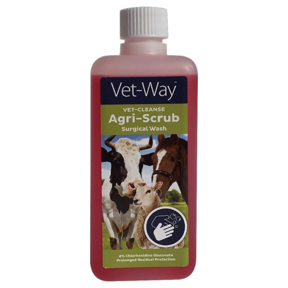 Vet Way Agri Scrub Horse First Aid 5L Clear