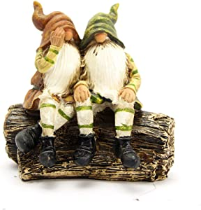 Garden Gnome Statue Garden Figurines Garden Statues and Figurines Gnomes Indoor/Outdoor Garden Gnome Sculpture for Patio, Yard or Lawn