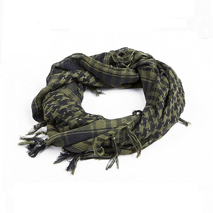5 opinioni per Distinct® Sciarpe militare antivento sciarpa uomini musulmani Hijab sottile
