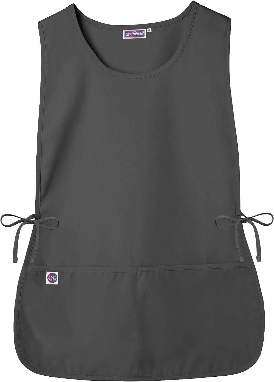 Sivvan Unisex Cobbler Apron - Adjustable Waist Ties, 2 Deep Front Pockets