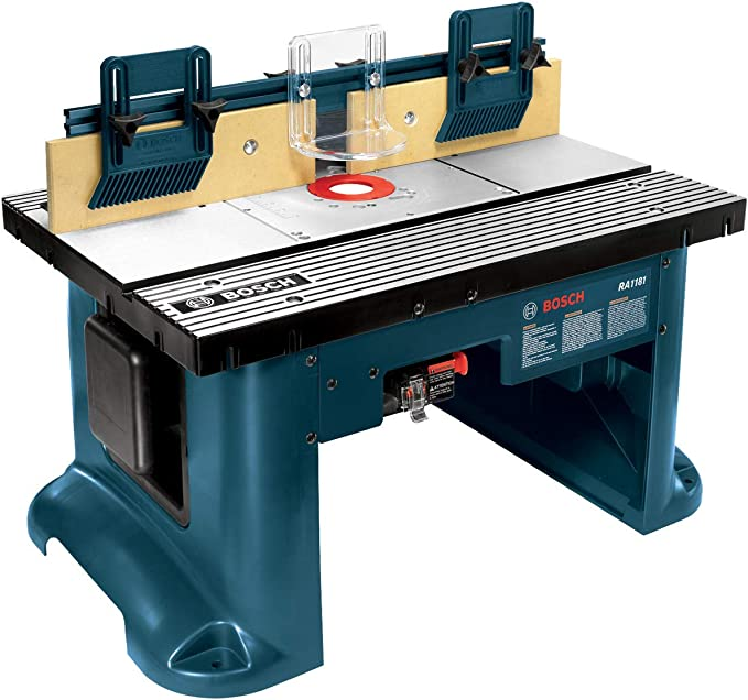 Bosch Benchtop Router Table RA1181 - Versatility