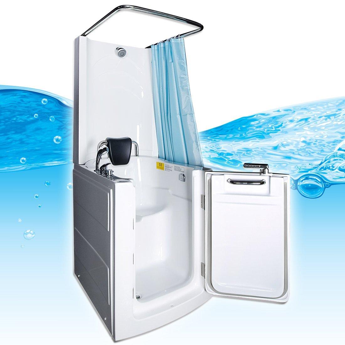 Seniors Shower Sitzbadewanne Sitzwanne Duschbadewanne Pool A110D ... | {Duschbadewanne mit tür 48}