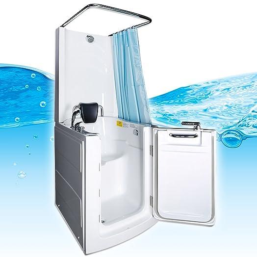 Seniors Shower Sitzbadewanne Sitzwanne Duschbadewanne Pool A110D ... | {Duschbadewanne 59}