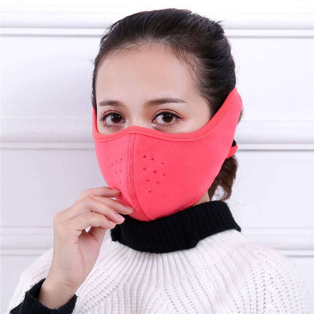 GUSTA 2Pack Unisex Cold-proof Mask Earmuff Thicken Anti Dust Earmuff Mouth Cover