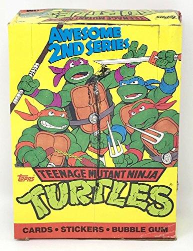 1990 Teenage Mutant Ninja Turtles 2nd Series Cards & Stickers - 48 Count Wax Packs (240 Total Cards + 48 Stickers) ()