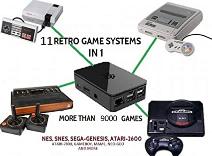 Retro gaming system 11 retro consoles 9000 games included linux retro gaming system 11 retro consoles 9000 games included publicscrutiny Images