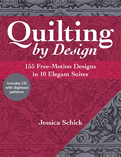 Wreath Quilt Block (Quilting by Design: 155 Free-Motion Designs in 10 Elegant Suites)