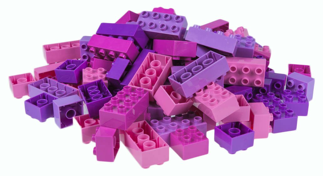 Classic Big Briks by Strictly Briks | Building Brick Set 100% Compatible with All Major Brands | 2 Large Block Sizes For Ages 3+ | Premium Building Bricks with Big Pegs in Girl Colors | 108 Pieces Review