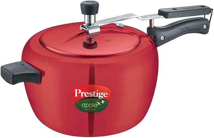 Prestige Apple Plus Aluminium Pressure Cooker 5 Litres Kitchen Dining Amazon Com
