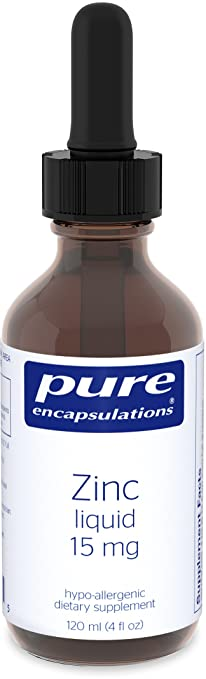 Product thumbnail for Pure Encapsulations, Zinc Liquid