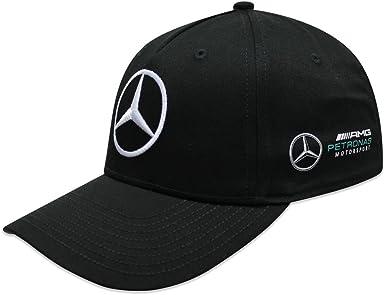 Mercedes AMG F1 Team Puma Baseball Gorra Negro Oficial 2018 ...
