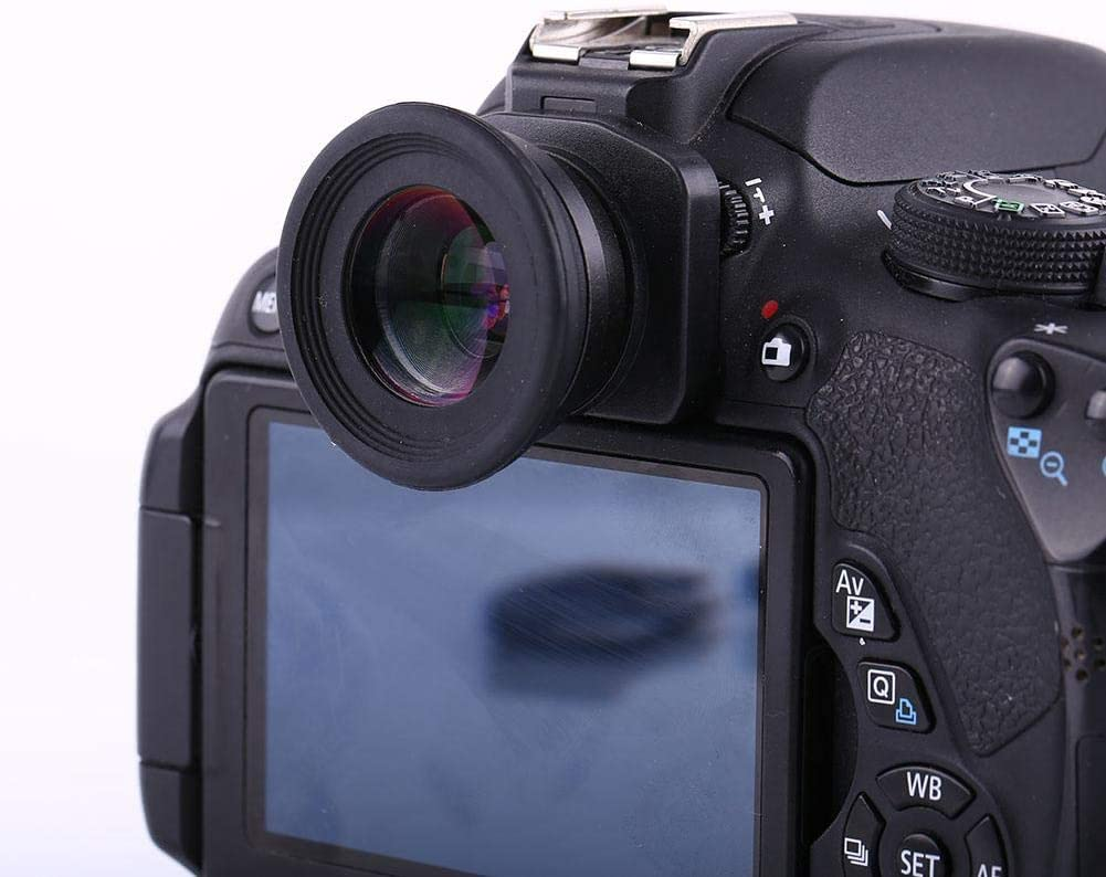 Langlebiger 1,5-facher Sucher mit festem Fokus Okular-Lupen-Augenmuschel f/ür DSLR-Kamera mit 6 Lupen-Montagebasen Auch f/ür kurz und weitsichtige Personen geeignet