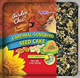 F.M. Brown's Garden Chic Wild Bird Mini Seed Cakes, 8-Ounce, Cardinal/Songbird with Fruit, My Pet Supplies