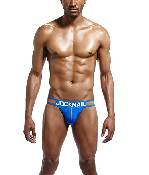 a3c4a73e399 DSBYFS Men s Sexy Bikini Jock Straps Mesh Breathable Tanga Hombre G-String  Thongs Gay Underwear