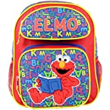Sesame Street Medium Backpack Elmo ABC Reading