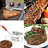 55 Letters Branding Iron Tools Set + Changeable Letters Meat Steak Burger DIY Novelty Barbecue BBQ Kitchen outdoor tools FR-4