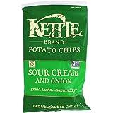 Kettle Foods Chip Potato Sour Cream & Onion, 5 oz
