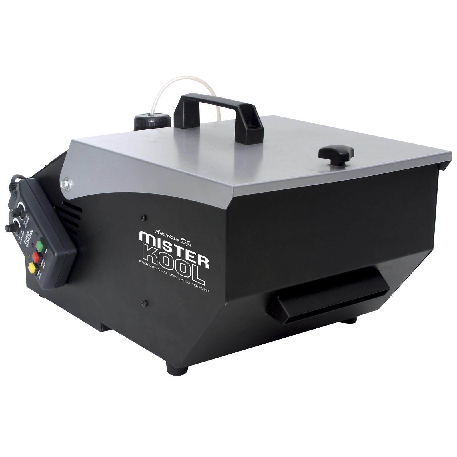 American DJ Smoke Low Lying Dry Ice Effect Fog Machine w/ Remote | MISTER-KOOL