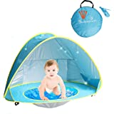 Sunba Youth Baby Beach Tent, Baby Pool Tent, UV protection Sun Shelters (Blue)