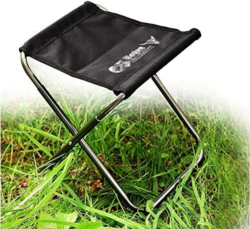 NYDZDM Folding Chair Portable Outdoor Leisure Fishing Folding Chair Aluminum Frame +600D Oxford Cloth
