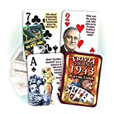 Best Playing Cards In The Worlds - 1943 Trivia Playing Cards: 74th Birthday or Anniversary Review