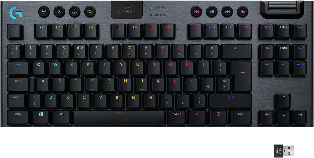 Logitech G915 TKL RGB Mechanical Keyboard