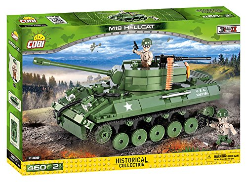 COBI Historical Collection M18 Hellcat Tank (M18 Hellcat Tank Destroyer)