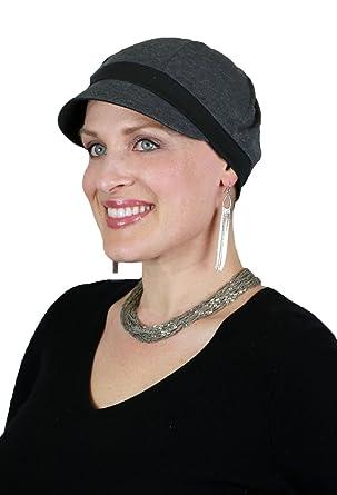 Cancer Headwear for Women Chemo Hats Cute Baseball Caps Head Coverings  Ladies (Dark Grey) b1712d40622