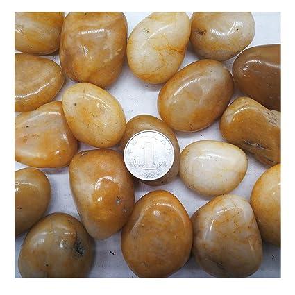 XTXWEN Guijarros Naturales, Piedras De Maceta para Jardinería, Piedras De Masaje De Pies,