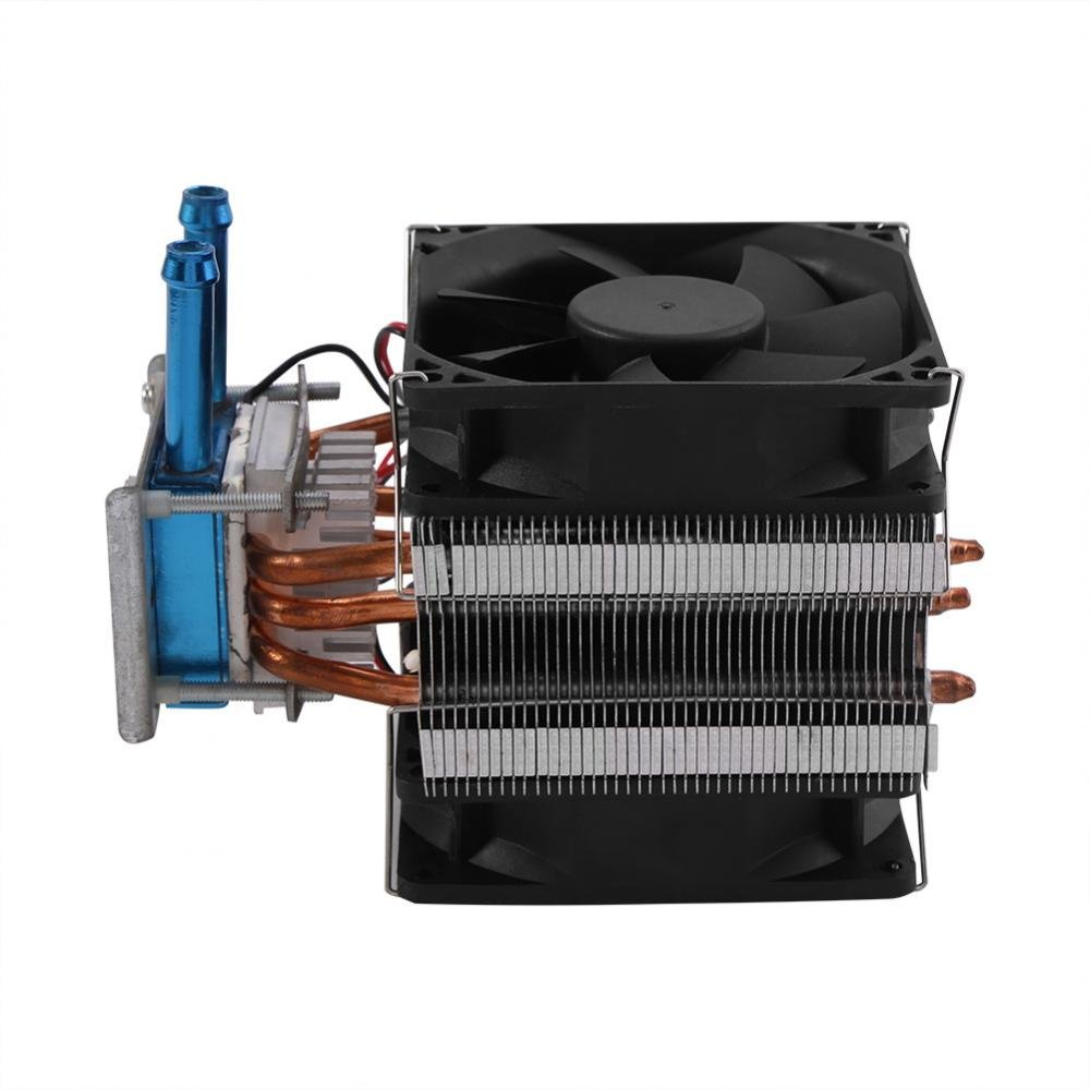 12V Thermoelectric Peltier Refrigeration DIY Water Cooling System Cooler Device with Fan