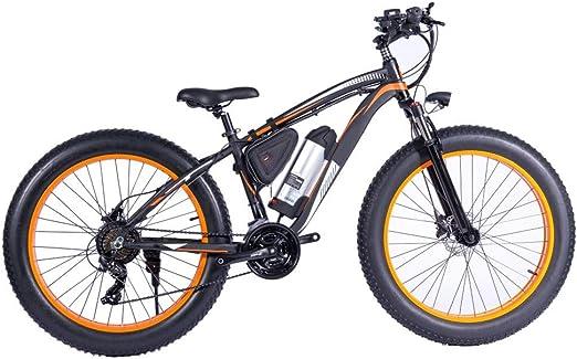 H&J Bicicleta de montaña eléctrica 26 Pulgadas Marco de Aluminio ...