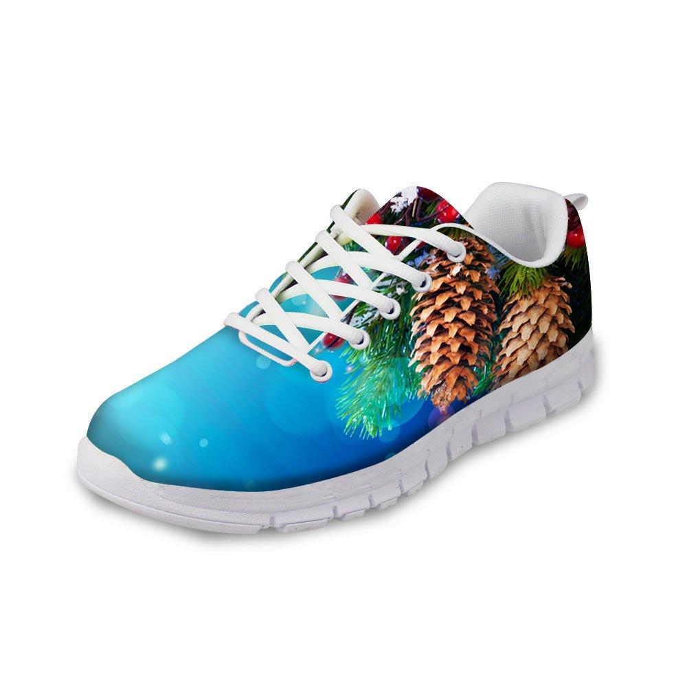 Santiro Cool Galaxy Print Lightweight Mesh Breathable Mens /& Womens Casual Jogging Sports Running Shoes