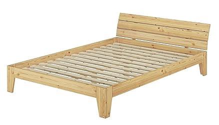 Solido largo letto in pino massello Eco 180x200 anche per ragazzi ...