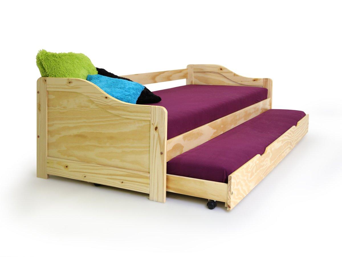 Gewaltig Bett 90x200 Mit Bettkasten Ideen Von Moebel-eins Laura Funktionsbett Tandemliege Jugendbett Stauraumbett Und
