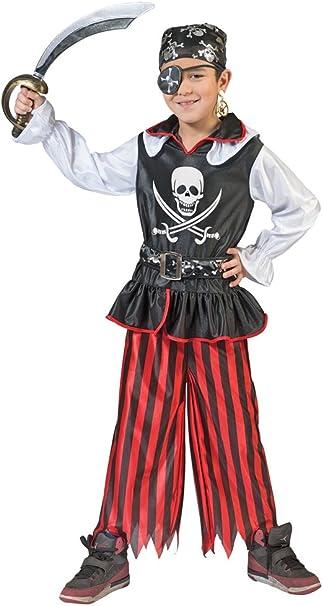 Das Kostümland Pirata Bill Disfraz para Niños – Crédito Piratas Mar ...