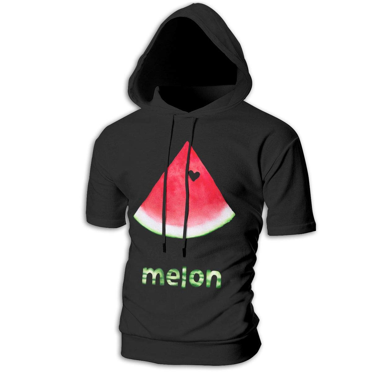 Hengteng Customized Fashion Man with Hood Youre One in A Melon Hoodie
