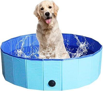 NHILES Portable Pet Dog Pool, Collapsible Bathing Tub