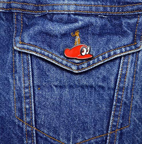 Exclusive Super Mario Odyssey Cappy Promotional Pin - Nintendo ()