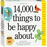 Best of 14,000 Things To Be Happy About Page-A-Day - 2017 Boxed Calendar 6 x 6in