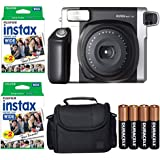 Fujifilm INSTAX 300 Photo Instant Camera With Fujifilm Instax Wide Instant Film Twin Pack Instant Film (40 Shots…