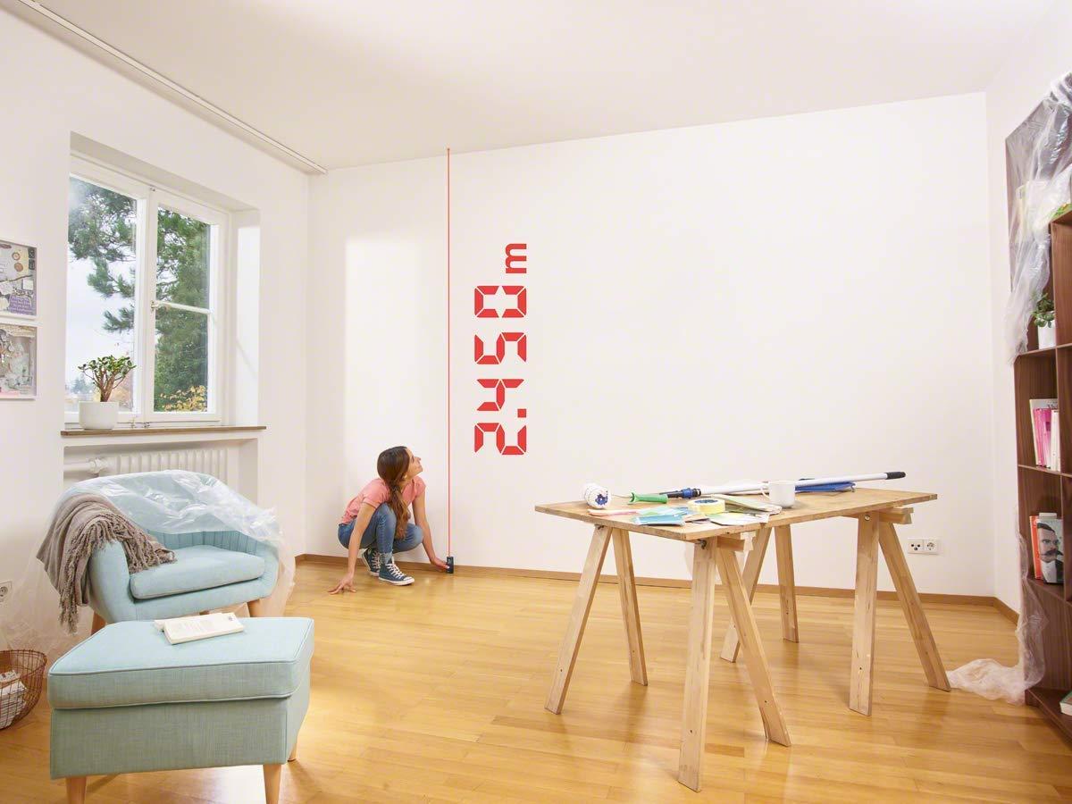 Bosch Home and Garden 0603672701 Bosch Medidor de distancias l/áser Zamo 3. Generaci/ón, Alcance: 0,15 /– 20 m 1.5 V Negro Verde