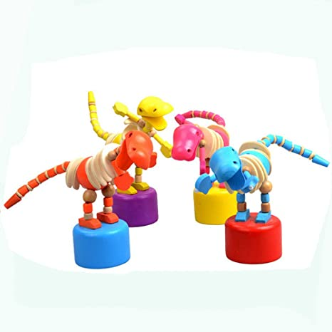 Awe Inspiring Amazon Com Newdiva Dancing Stand Colorful Rocking Wooden Uwap Interior Chair Design Uwaporg