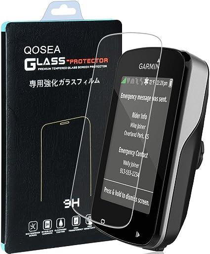 Protector de Pantalla para Garmin Edge 820(Paquete de 2), Qoosea Cobertura Completa 2.5D 9H Vidrio Templado Protector de Pantalla de Cristal Templado, Ultra Resistente a Golpes, Alta Transparencia, Sin burbujas: Amazon.es: Electrónica