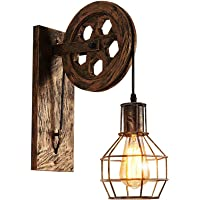 Lámpara de pared Estilo Vintage de Jaula