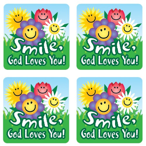 Carson Dellosa Christian Smile, God Loves You! Stickers (0667)