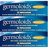 Germoloids Triple Action Ointment 25ml x 3 Packs