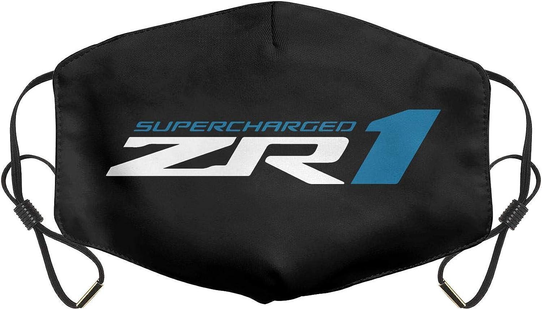Women Men Adjustable Earloops Reusable Mouth Cover for Aduit Kens C7-Corvette-Racing