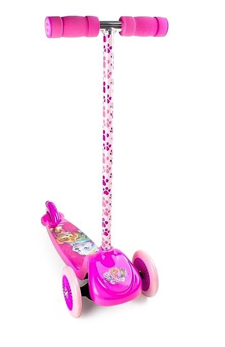 Amazon.com: Paw Patrol OPAW199-F Flex Scooter 3 Wheels, Pink ...