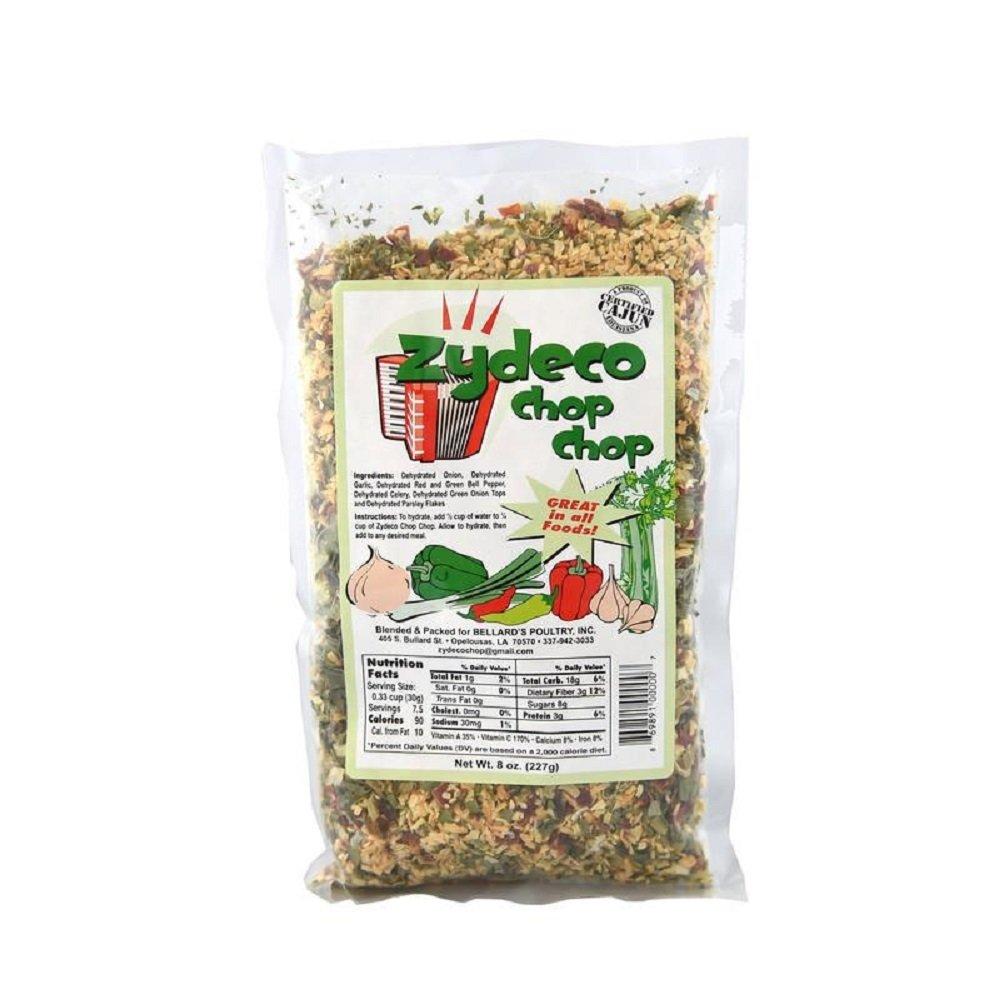 Zydeco Chop Chop Cajun Seasoning Base, 8 Ounce Resealable Bag